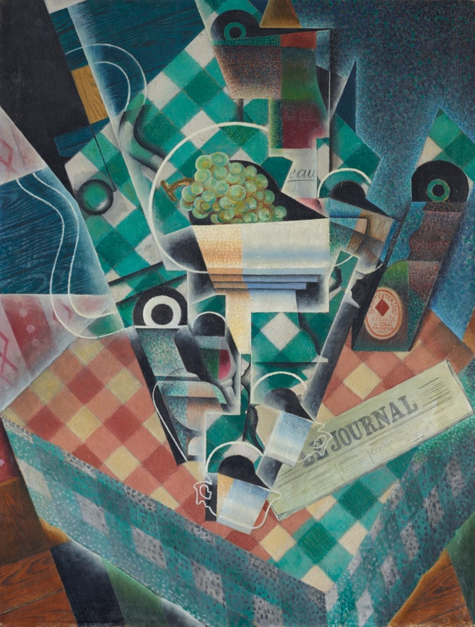 Juan Gris, Nature morte à la nappe à carreaux, 1915 Estimate: £12-18 million, Christie's Images Ltd. 2014