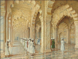 The Pearl Mosque at Agra by Vasily Vereshchagin (1842-1904) | Price Realised: £3,666,500 at Christie's on June 2nd