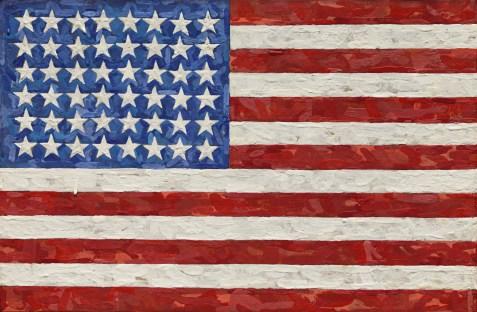 9221 Jasper Johns Flag